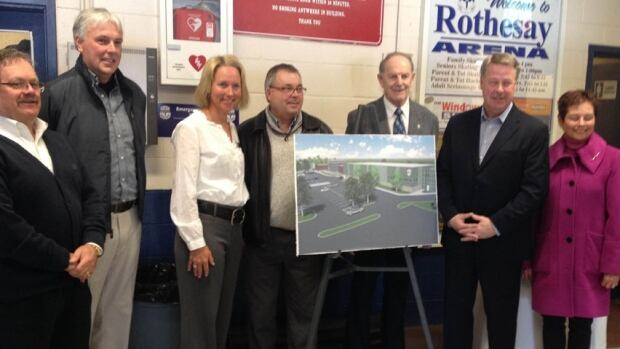 Rothesay plans to build a new arena
