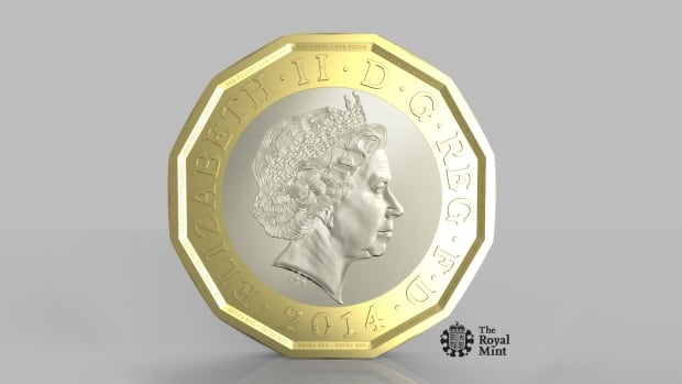 The new 12-sided pound coin made with two separate metals is supposed to be more difficult to counterfeit.