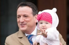 Greg Rickford and daughter at Rideau Hall