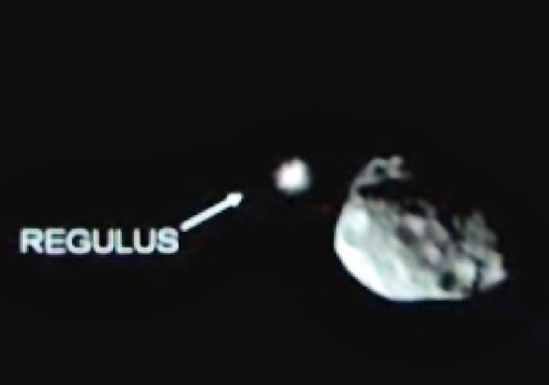 Bright star Regulus gets eclipsed by asteroid Erigone