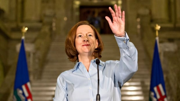 During her time as Alberta premier, Alison Redford ordered a luxury penthouse 'premier's suite' to be built in the provincially owned Federal Building.