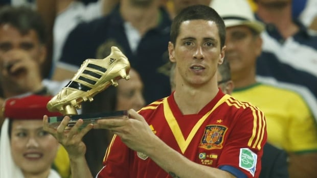 Fernando Torres won the golden boot award as best scorer of last year's Confederations Cup, but his spot for the World Cup is not secure.