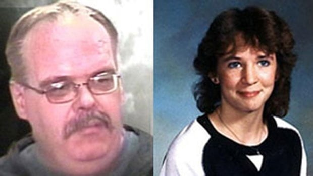 Mark Edward Grant, left, was convicted in 2011 of second-degree murder in the 1984 death of Candace Derksen, 13. In 2013, the Manitoba Court of Appeal ordered a new trial.