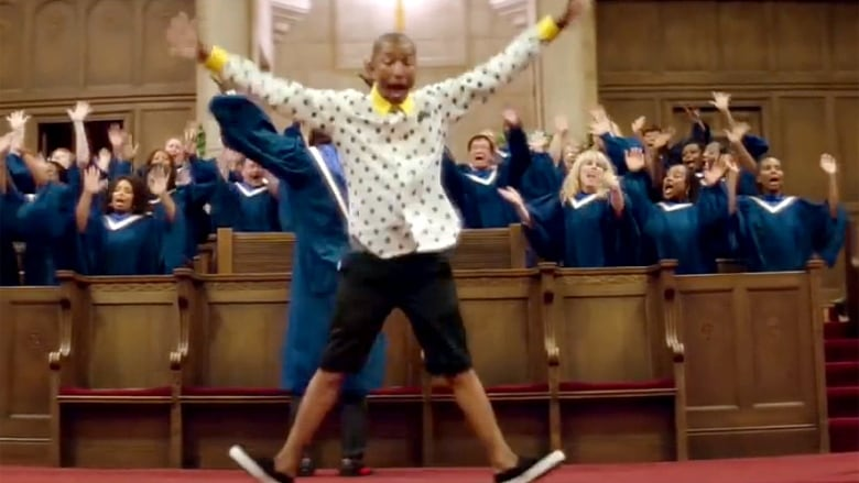 15ef32fd5ecc3 A screen capture from the Pharrell Williams music video for his hit song  Happy. (YouTube)