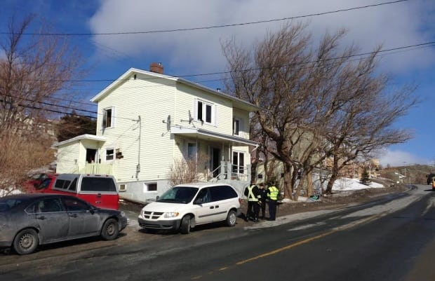 Fire, police outside Torbay home that had fire March 20, 2014