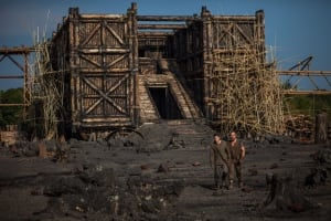 Ark depicted in Darren Aronofsky's film Noah