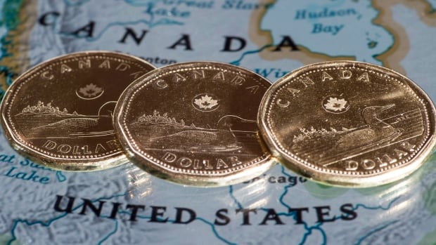 The Canadian dollar stayed below 89 cents on Thursday, mainly because of Janet Yellen's indication that U.S. interest rates may rise earlier than expected.