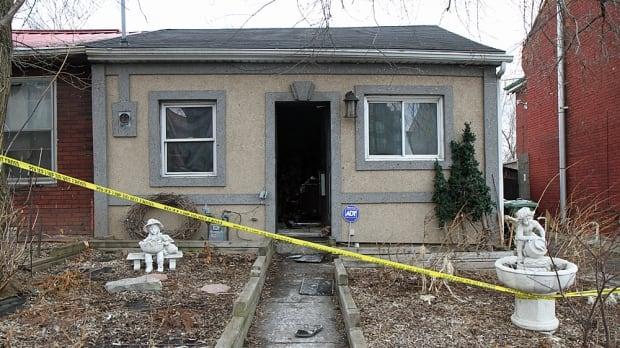 Bay Street House fire