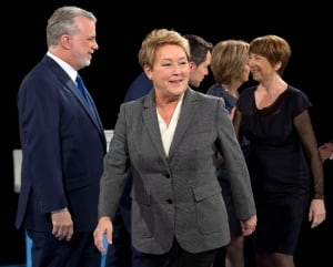Quebec leaders debate Pauline Marois