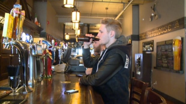 Fifty-three per cent of the population aged 20 to 34 on the island report heavy drinking in the past month, compared to the provincial average of 38 per cent.