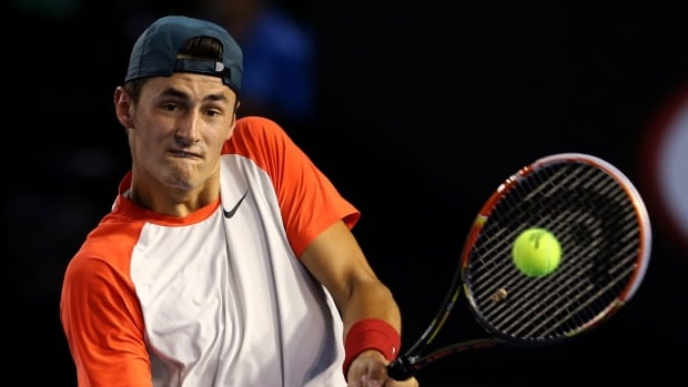 Bernard Tomic, seen against Rafael Nadal at the Australian Open earlier this year, is trying to battle back from hip injuries.