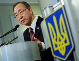 UKRAINE-CRISIS/UN Ban Ki-moon