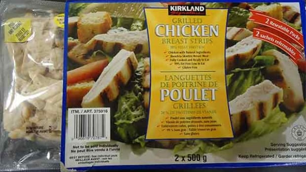 Kirkland Signature brand grilled chicken breast strips sold at Costco have been recalled.