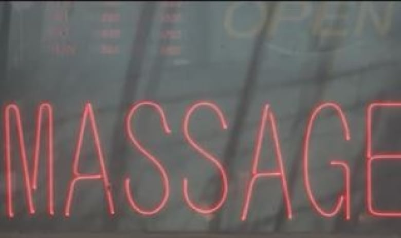 An Increasingly Common Sight In Regina Neon Signs Advertising Massage Parlours Cbc
