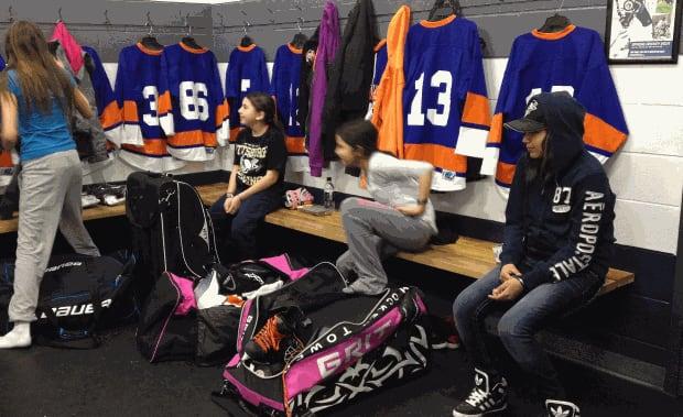 cross lake girls hockey team