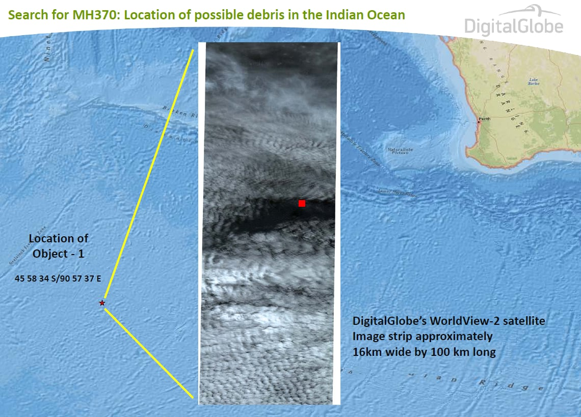 Malaysia Airlines MH370: The challenges of a remote ocean search