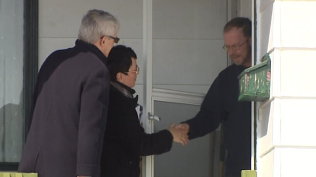 Federal Liberal MP and former astronaut Marc Garneau joined Cathy Bennett on the door-to-door campaign trail on Saturday, in her bid to become the MHA in Virginia Waters.