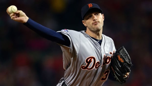 Detroit Tigers pitcher Max Scherzer struck out 240 batters in 214 1-3 innings last season, and went 21-3 with a 2.90 ERA.