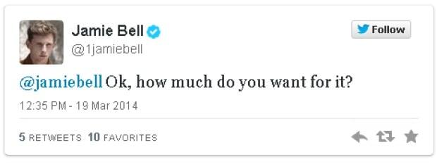 Jamie Bell vs. Jamie Bell