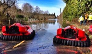 Slide hovercraft
