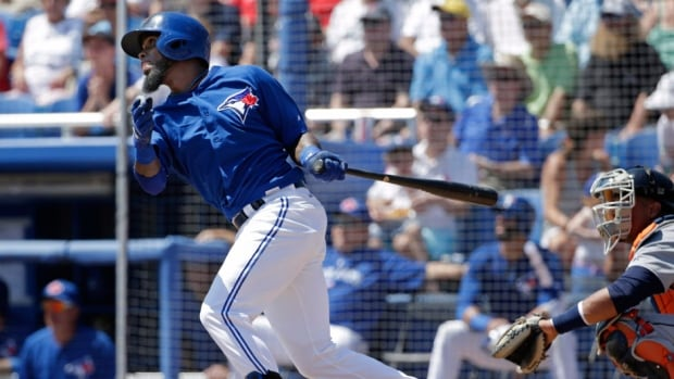 Toronto Blue Jays shortstop Jose Reyes hit .296 with 10 home runs, 37 RBI and 15 steals last year.