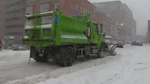 City of St. John's snowplow