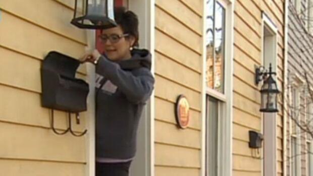 Door-to-door mail delivery