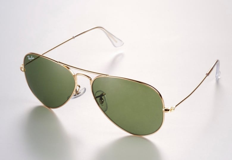 3a17835d07bf The classic and sleek Ray-Ban aviator. (Luxottica Associated Press) ...