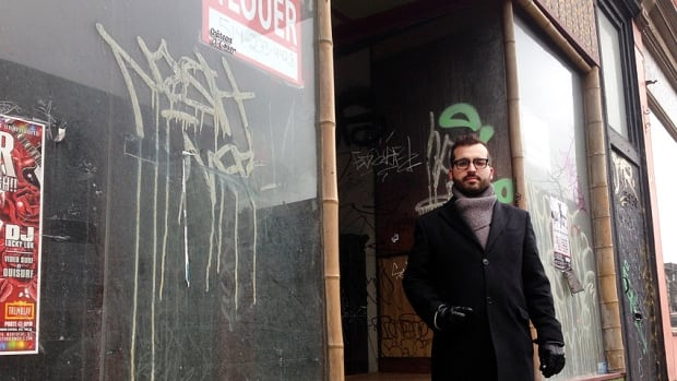 Glenn Castanheira of the Société du développement du Boulevard Saint-Laurent said absentee landlords are responsible for the decay of what was once Montreal's main drag.