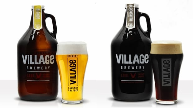 Calgary-based Village Brewery is recalling its beer sold in large jug-style Growlers because the bottles are defective.