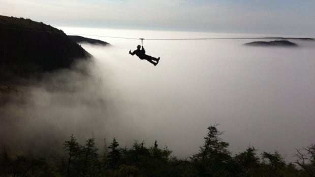 North Atlantic Zip Lines in Petty Harbour offers a 10-line course that is billed as the largest in Canada.