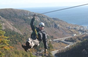 Petty Harbour Zip Lining 20140324