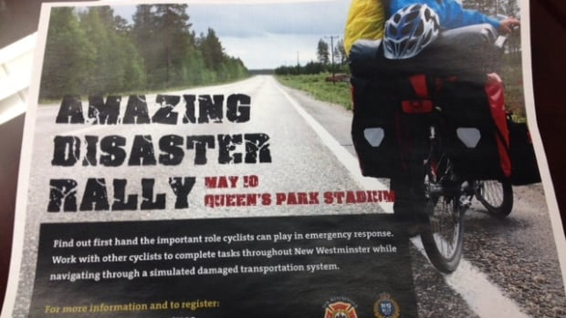 New Westminster will hold its 'Amazing Disaster Rally' on May 10, 2014.