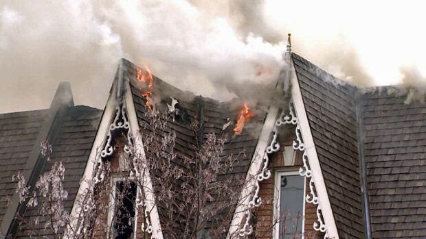 Fire at 13 Lippincott Street East