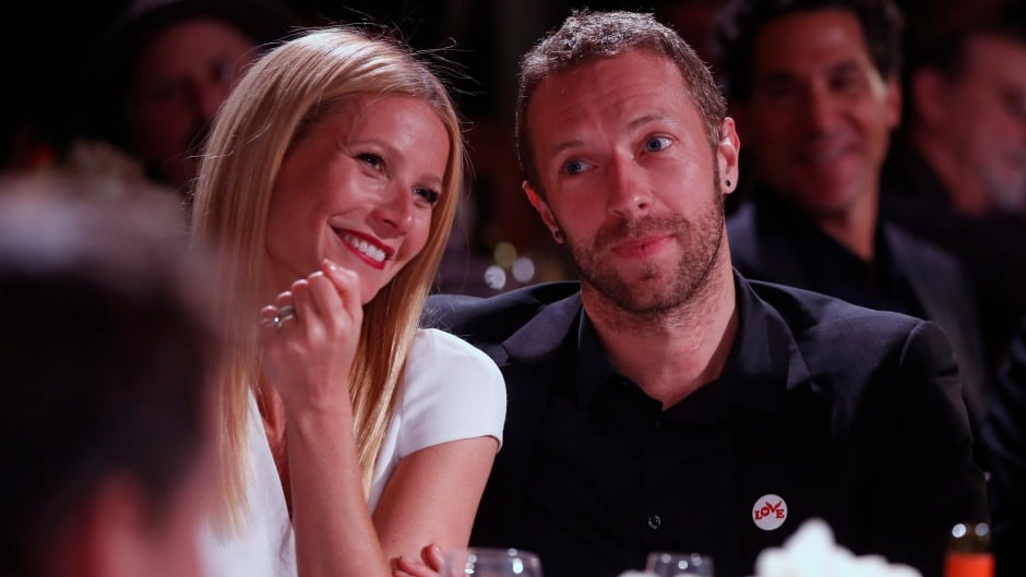 """Actress Gwyneth Paltrow and Coldplay lead singer Chris Martin announced they were 'consciously uncoupling"""" in 2014."""