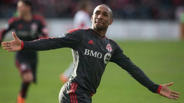 Toronto FC striker Jermain Defoe has scored three goals this season.