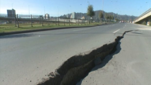 A Natural Resources Canada seismologist says there is a one in 10 chance of a megathrust earthquake off the B.C. coast in the next 50 years.
