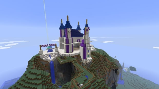 There aren't any castles in Ottawa, but there is Parliament Hill — and that building and many others are now available for Minecraft players to explore and interact with, says Coun. Rick Chiarelli.
