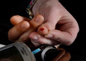 Diabetes blood sugar test