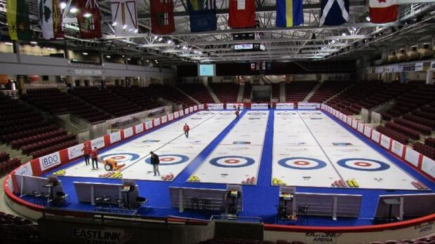 The Credit Union Place upgrades will be ready for the Grand Slam of Curling in April.