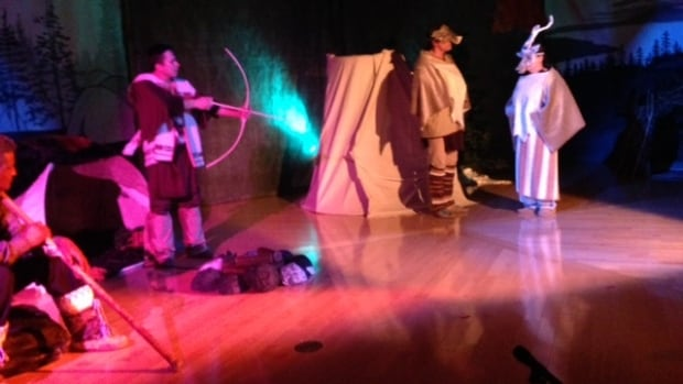 Mind's Eye, a play based on a book by Emily Masty and Susan Marshall, explores some of the legends told to generations of James Bay Cree by their elders.
