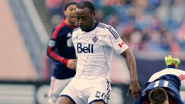Vancouver FC midfielder/defender Nigel Reo-Coker started 31 MLS games for Vancouver last season, collecting one goal and four assists.