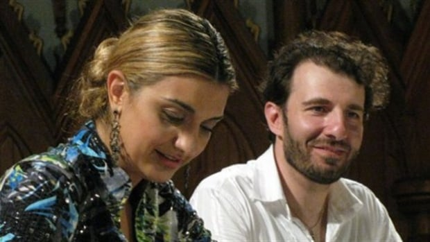 Isabel Bayrakdarian and Serouj Kradjian are partners in music and partners in life.