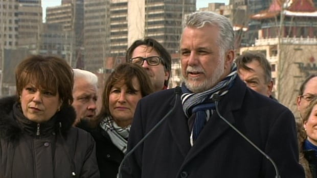 Liberal Leader Philippe Couillard said he transferred the money in his offshore account when he moved back to Canada and declared the revenue.