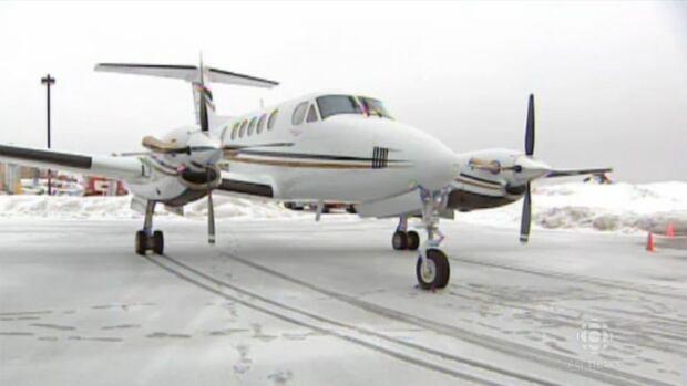 New Brunswick government plane