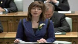 Charlene Johnson NL finance minister budget speech CBC