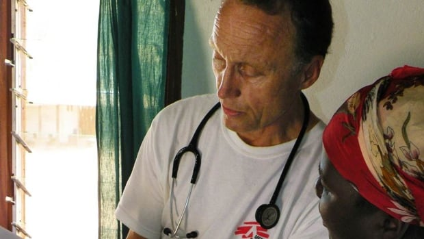 Dr. Bruce Reeder working in Congo.
