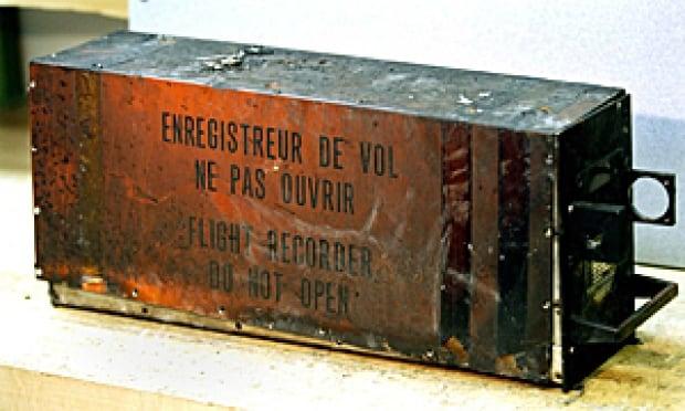 Air France black box