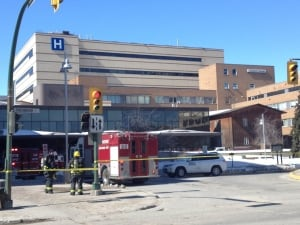 Health Sciences Centre evacuation