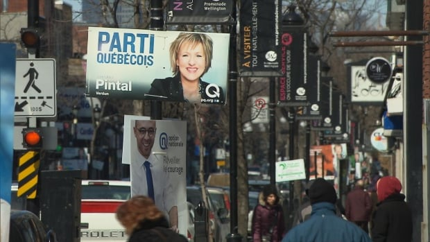 PQ support is growing in the Liberal stronghold riding of Verdun on the island of Montreal.